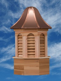 Amish Built Pinnacle Cupola