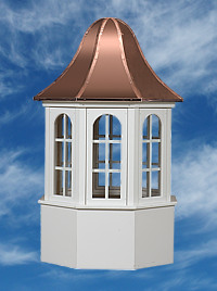 Amish Built Villa Cupola