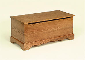 Amish Oak Toy Chest