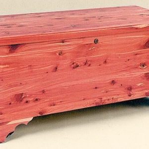 Amish Flat Top Cedar Hope Chest