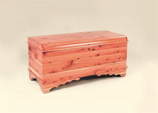 Amish Waterfall Cedar Hope Chest