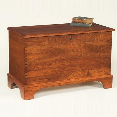 Amish Reproduction Cherry Hope Chest