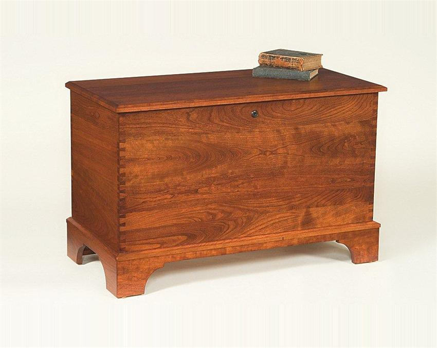 Amish Deep Storage Cherry Hope Chest