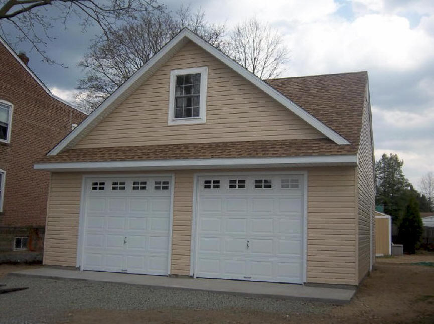 25 x 25 detached garage REED Amish Garages
