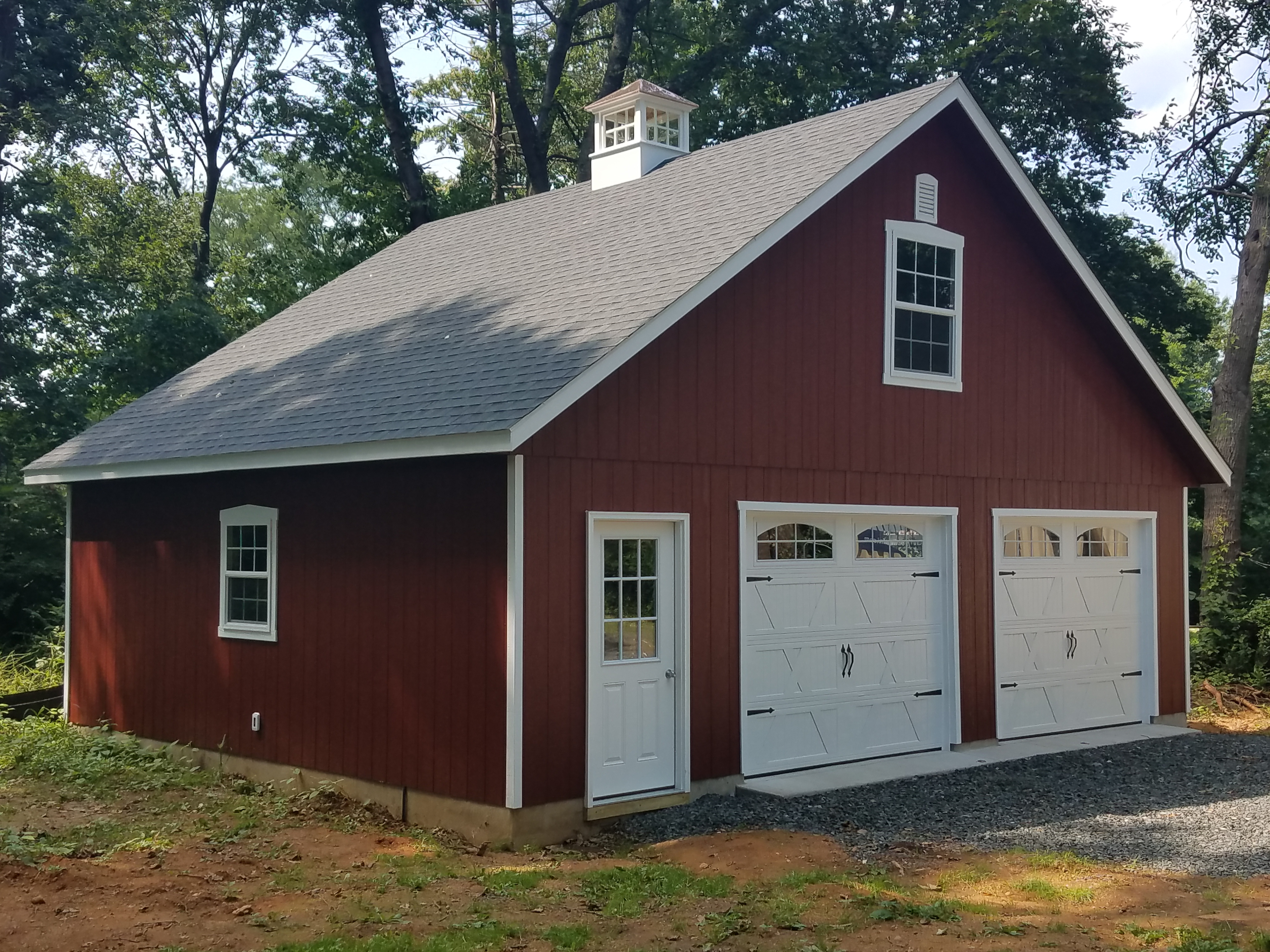 Attic Package Amish Built 8 12 Two Car Garages