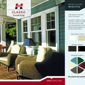 2nd tier window upgrade Colors harvey classic double hung vinyl windows Page 1 280x280 Garage Upgrades & Options