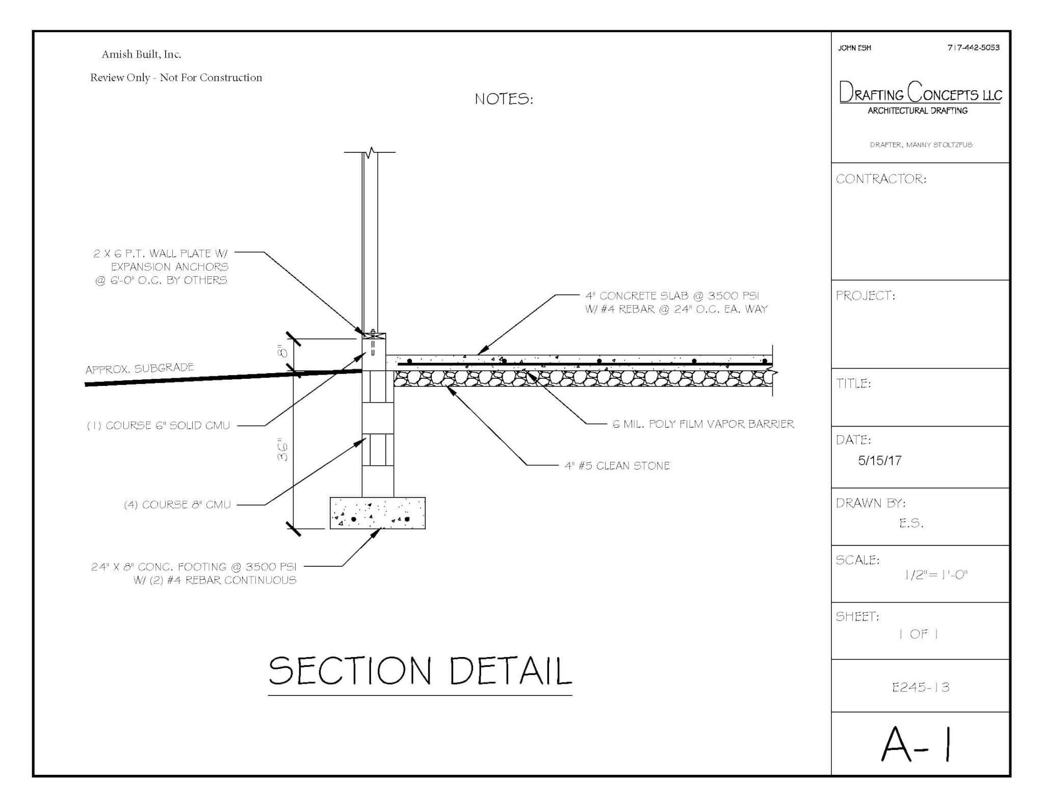 36 footer plan 3 1 Blue Prints And Plans