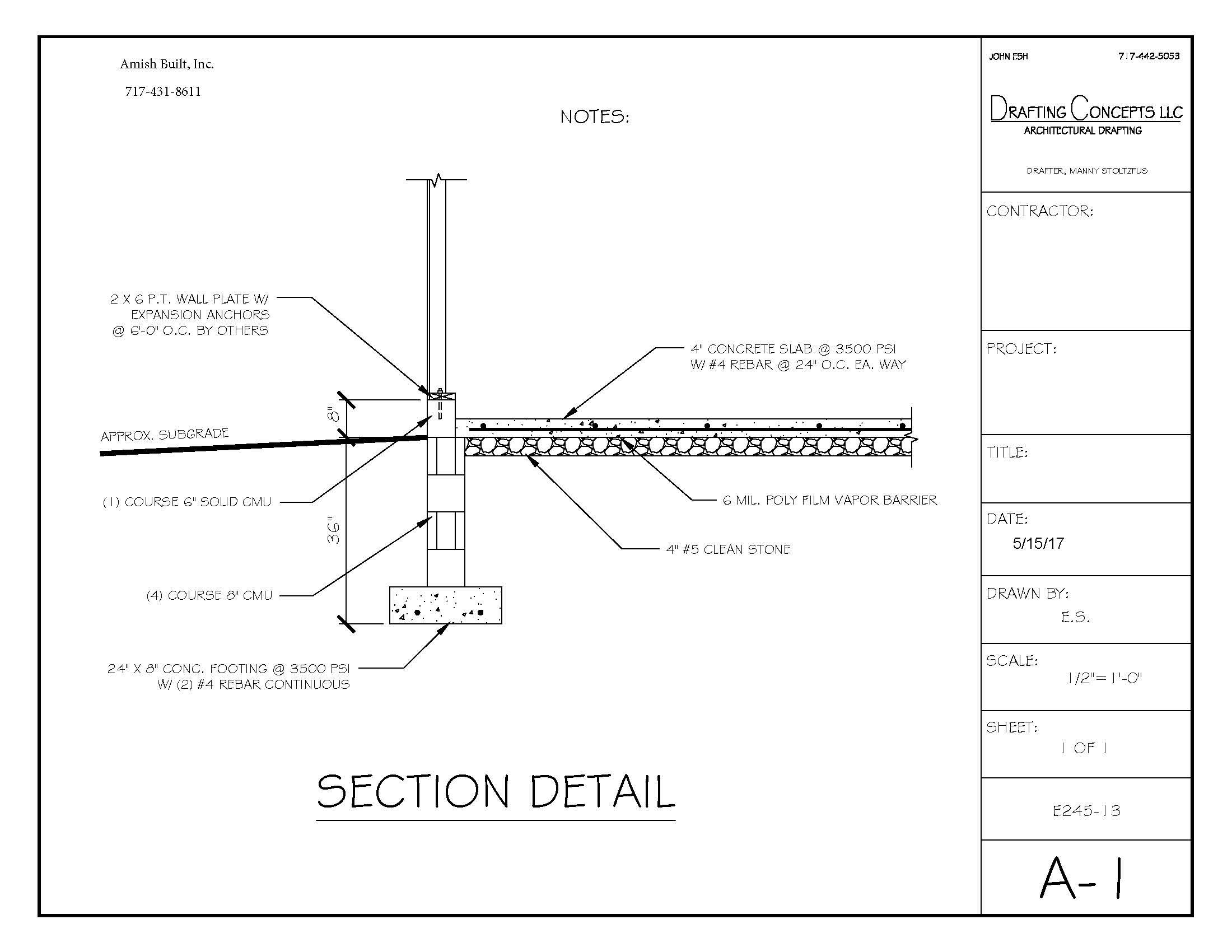 36 footer plan 3 Garage Upgrades & Options