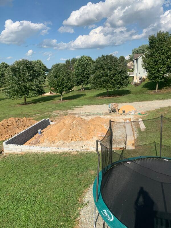 %name Excavation and Foundations